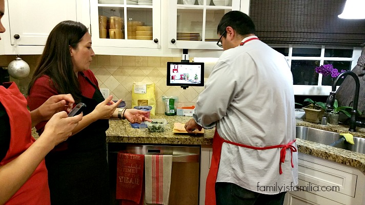 """Getting """"Techy"""" in the Cocina with Verizon!"""