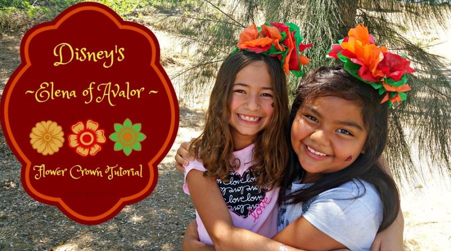 Elena of Avalor DIY Flower Crowns (Video)