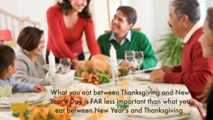 New Year to Thanksgiving