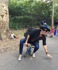Maker Faire, Cirque Amongus, mini clown bike