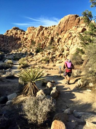 Hidden Valley Joshua Tree, 1 mile loop hike