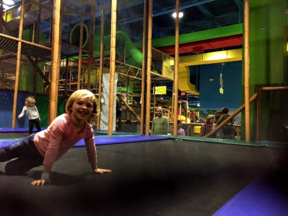 Billy Beez trampolines Palisades Mall