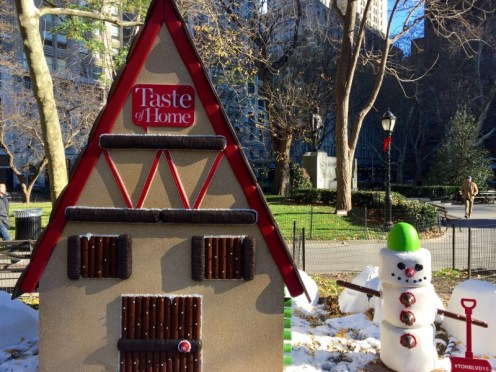 Gingerbread Blvd, Madison Square Park