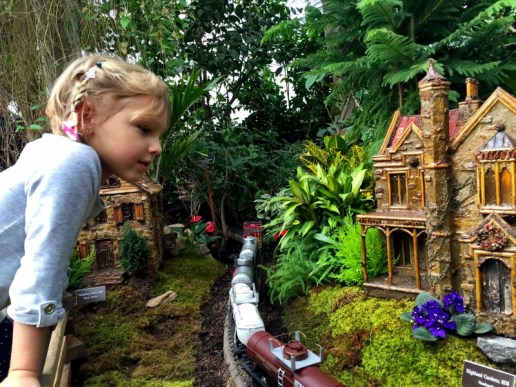 NY Botanical Garden Train Show magic