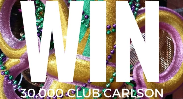 Club Carlson: Rewards and a giveaway!
