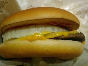 マクドナルド おてごろマック エッグチーズバーガー 中身