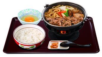 すき家 新牛すき鍋定食