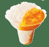 ミスドのかき氷コットンスノーキャンディ・マンゴー