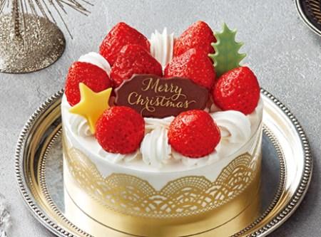セブンイレブンのクリスマスケーキ2016「いちごのプリンセスショートケーキ」