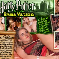 Horny and naked Emma Watson likes to posing on table!