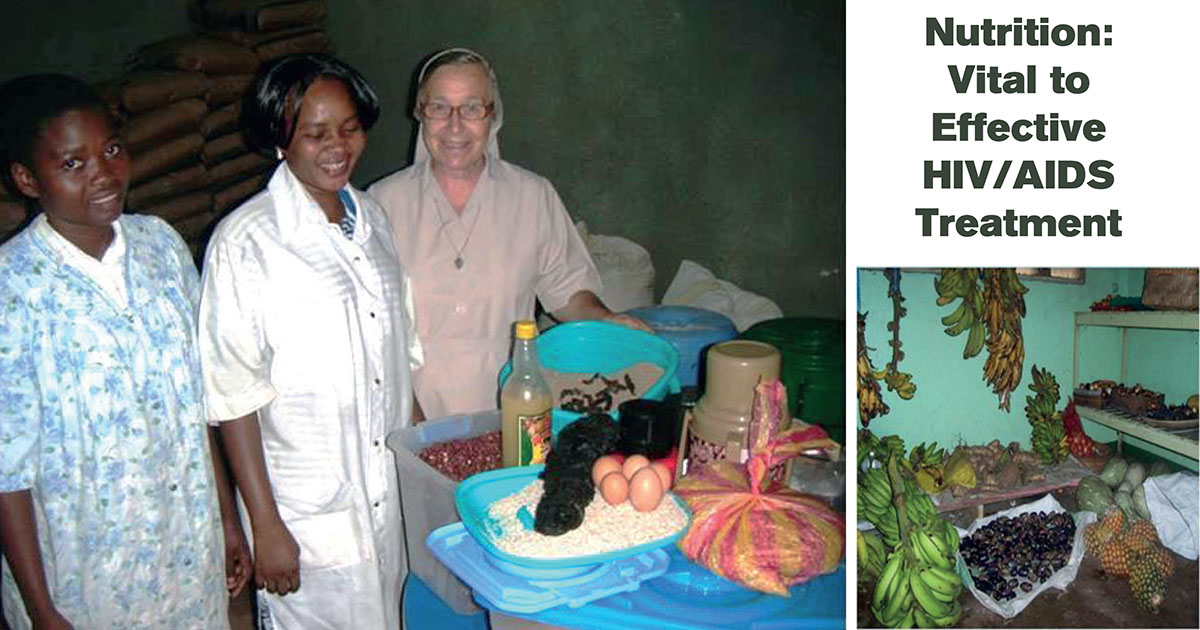 Nutrition – Vital to Effective HIV/AIDS Treatment