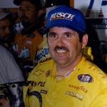Jeff Green wins his first Busch Series race in 1997. Photo - NASCAR.com