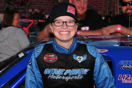 Lacie Price at 9:30 pm ET Photo - Marv Keller at Irwindale Event Center