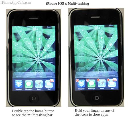 iphone iOS4 multitasking
