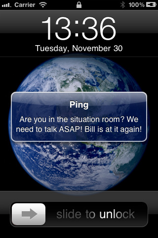 quick ping iphone app review