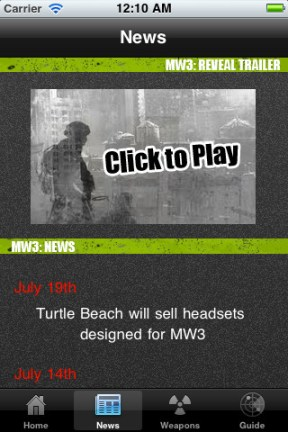 Super Guide Modern Warfare 3 iPhone App Review