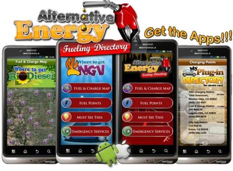 Iconosys Alternative Fuel Apps