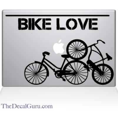 Bike_Love macbook pro Sticker