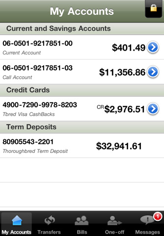 National Bank iPhone App Review