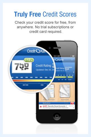 Credit Karma Mobile iPhone App Review