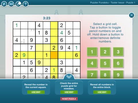 Puzzle Fundoku iPad App Review