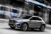 in Dyamische SUV Studie von Mercedes-Benz : Der Concept GLA