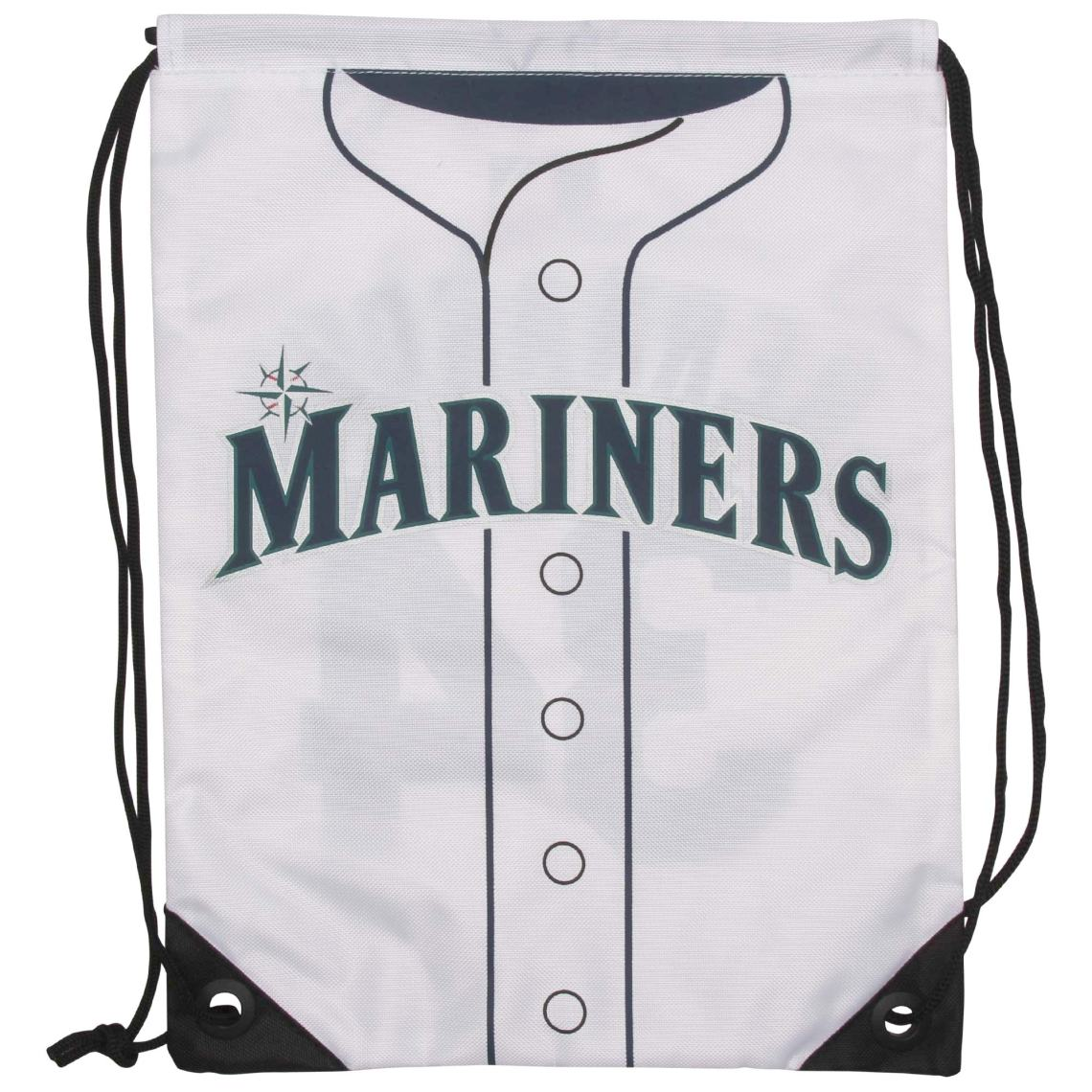 "FA A lix HernA A!ndez Seattle Mariners 13"" Player Drawstring Backpack - White"