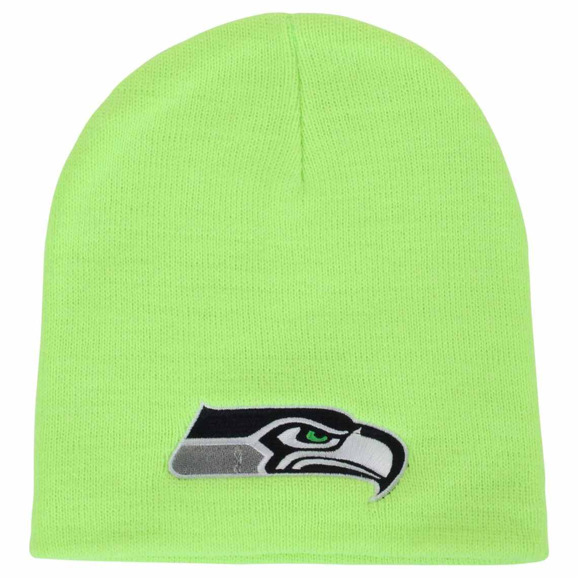 '47 Brand Seattle Seahawks Logo Cuffless Beanie - Neon Green