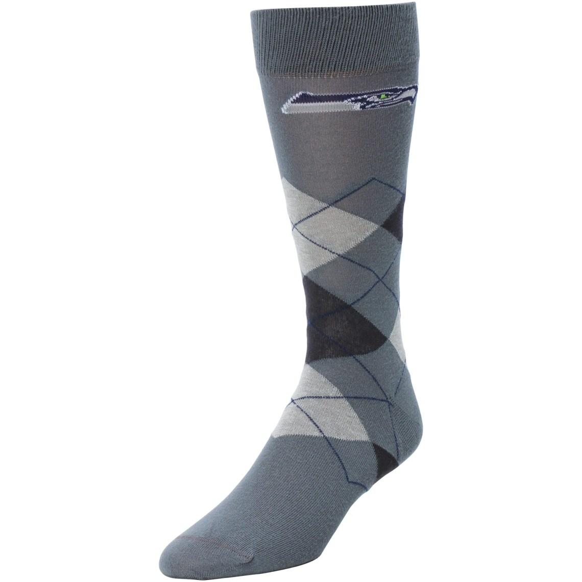 Seattle Seahawks Argyle Tube Socks