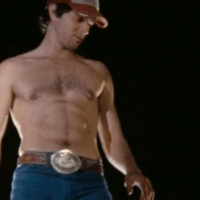 Nicholas D'Agosto as Joel stripetease/shirtless in Dirty Girl