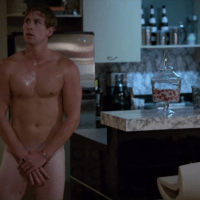 """Justin Chatwin as Steve Wilton/Jimmy Lishman and Ryan McIntyre shirtless/naked in Shameless (US) 3x07 """"A Long Way From Home"""""""