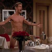 "Jean-Luc Bilodeau as Benjamin Bon Jovi ""Ben"" Wheeler shirtless/naked in Baby Daddy 2x17 ""The Naked Truth"""