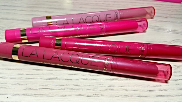 L'Oreal 201 Lacque-y Charm, 205 Lacque and Roll, 207 Lacque-y You,  209 Choco-Lacque