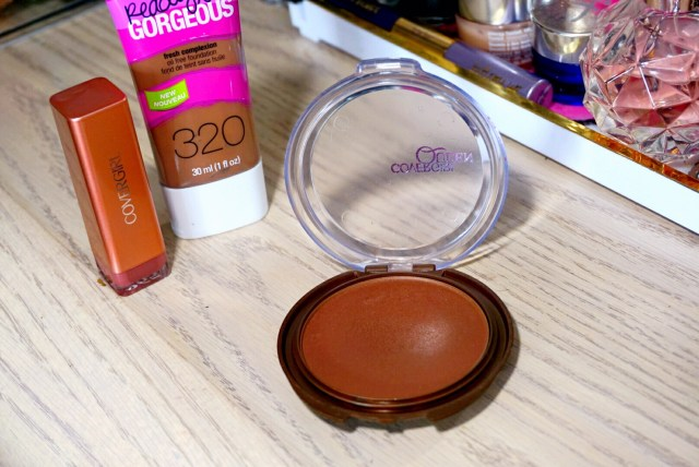 CoverGirl Queen Collection Ebony Bronze Natural Hue Bronzer