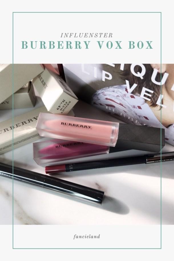 Influenster Burberry Vox Box Swatches on Dark Skin