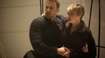 Insurgent: Theo James and Shailene Woodley