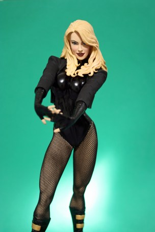 Cover Girls of DC Black Canary Statue 006