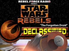 "Tricia Barr Talks ""The Forgotten Droid"" on RebelForce Radio Declassified"