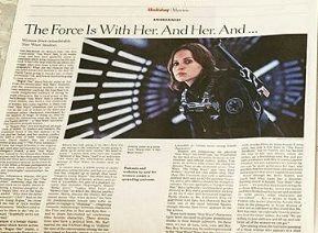 Fangirls Going Rogue in New York Times!