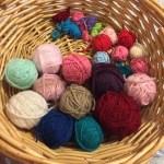 Scrappy granny crochet blanket