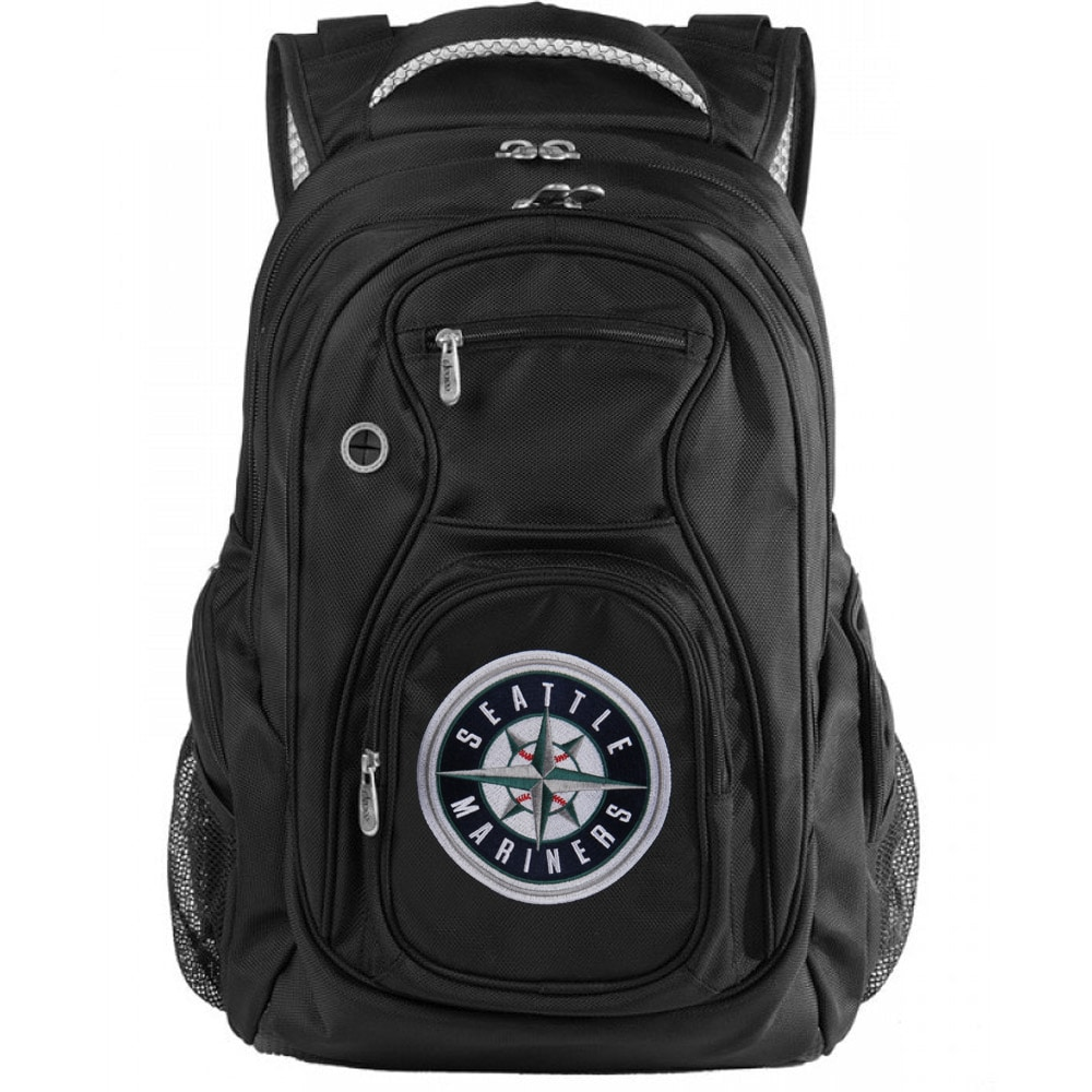 "Seattle Mariners 19"" Fanatic Backpack - Black"