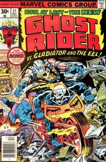 Ghost Rider 21 cover by Jack Kirby