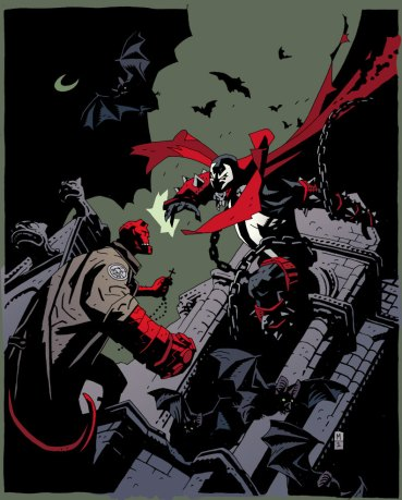 Hellboy vs Spawn