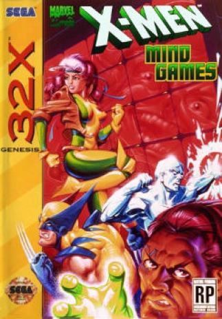 XMen_32X_US_Box_Front