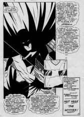 Page from the unpublished Blockbuster series