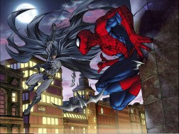 Batman vs Spider-Man by Michael Turner