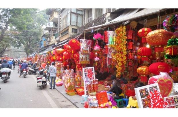 Rue Hang Ma, Hanoi