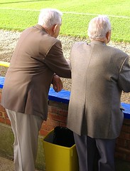 Old boys at non-league football