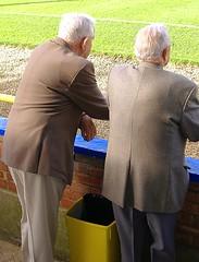Old boys at non-league football