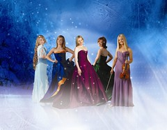Christmas publicity photo of Celtic Woman